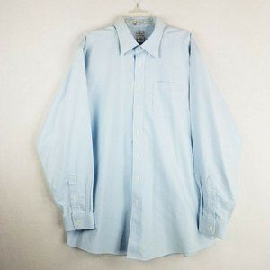 LL Bean Traditional Fit Wrinkle Free Button Up 18